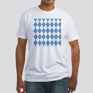 UNC Carolina Blue Argle Basketball Fitted T-Shirt