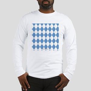 UNC Carolina Blue Argle Basket Long Sleeve T-Shirt