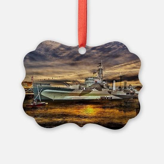 HMS Belfast Ornament