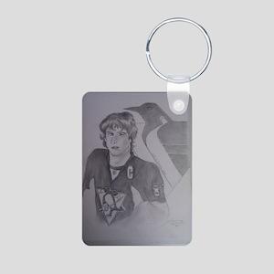 Sidney Crosby Pittsubrugh  Aluminum Photo Keychain