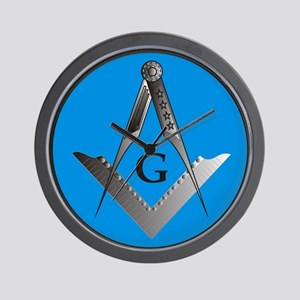 Masonic Design on a Wall Clock