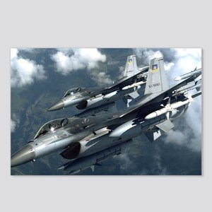 51st F-16 Postcards (Package of 8)