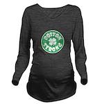 Boston Strong Long Sleeve Maternity T-Shirt
