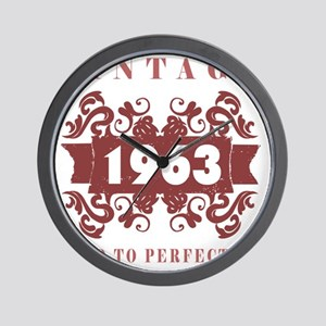 1963 Vintage (old-fashioned) Wall Clock