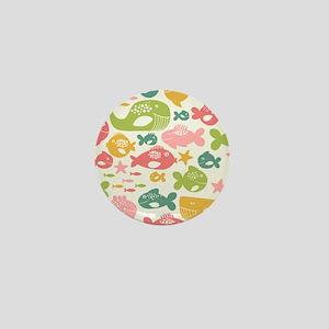 Cute Fish Mini Button
