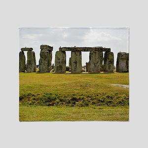 Stonehenge 2 Throw Blanket