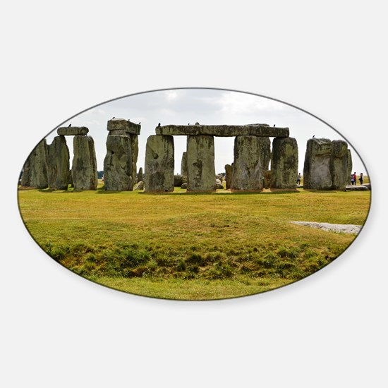 Stonehenge 2 Sticker (Oval)