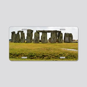 Stonehenge 2 Aluminum License Plate