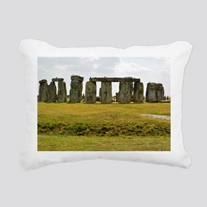 Stonehenge 2 Rectangular Canvas Pillow