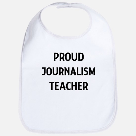 JOURNALISM teacher Bib