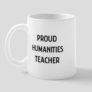 HUMANITIES teacher Mug