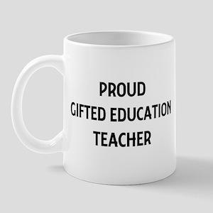 GIFTED EDUCATION teacher Mug