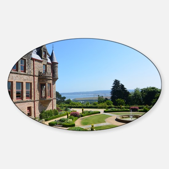 Belfast Castle Sticker (Oval)