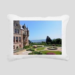 Belfast Castle Rectangular Canvas Pillow
