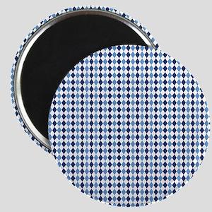 UNC Argyle Carolina Blue Tarheel Magnet