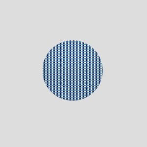 UNC Basketball Argyle Carolina Blue Mini Button