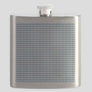 UNC Carolina Blue Argle Basketball Flask