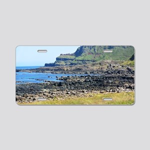 Giants Causeway Aluminum License Plate