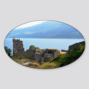 Urquhart Castle Sticker (Oval)