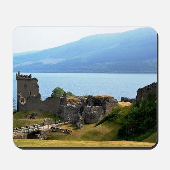 Urquhart Castle Mousepad