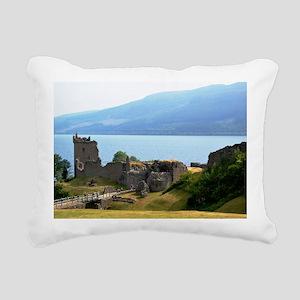 Urquhart Castle Rectangular Canvas Pillow