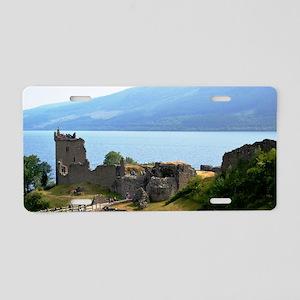 Urquhart Castle Aluminum License Plate