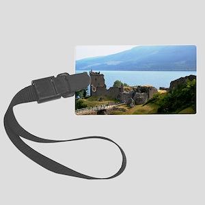 Urquhart Castle Large Luggage Tag