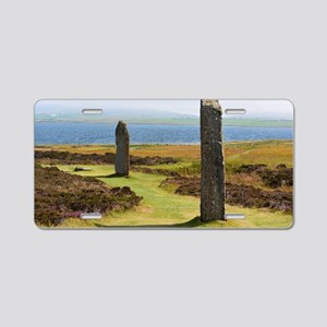 Ring of Brodgar Aluminum License Plate