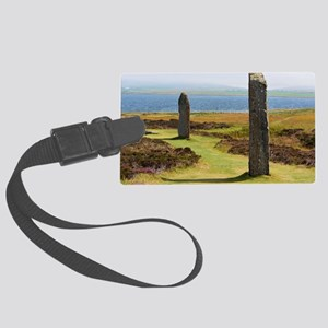 Ring of Brodgar Large Luggage Tag