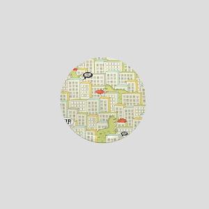 Monsters Attack City Mini Button