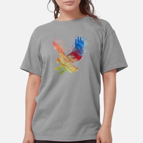 Unique Bird silhouette Womens Comfort Colors Shirt