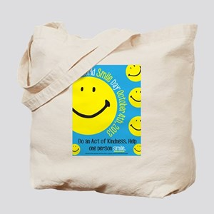 World Smile Day® 2013 Poster Tote Bag