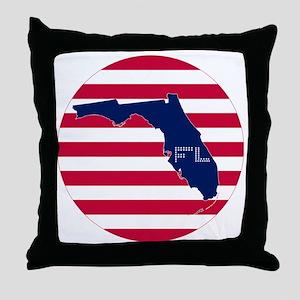 FL-C Throw Pillow