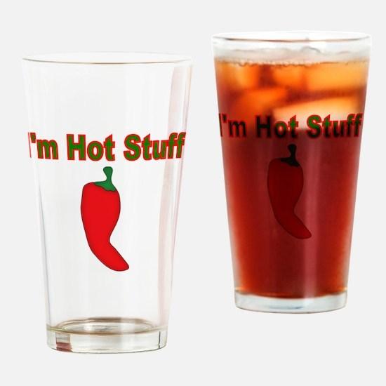 Im Hot Stuff Drinking Glass