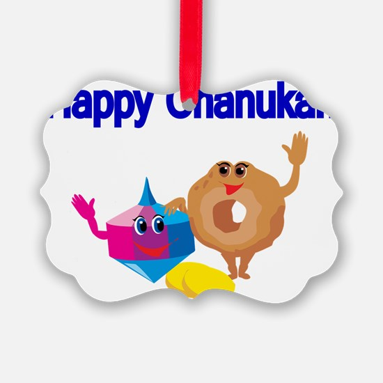 Happy Chanukah Ornament