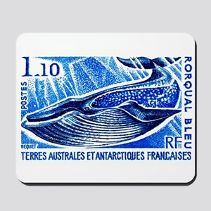 1977 French Southern Lands Blue Whale Stamp Mousep