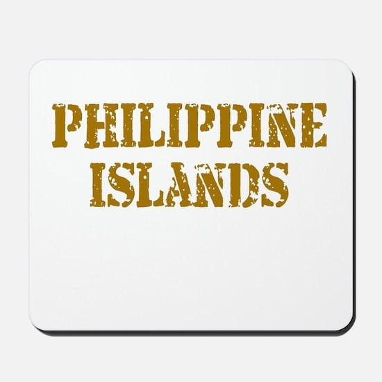 Philippine Islands Mousepad
