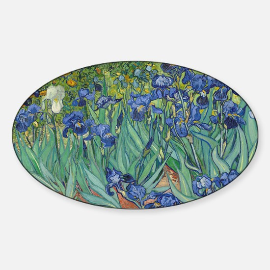 Van Gogh Sticker (Oval)