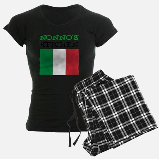 Nonnos Kitchen Italian Apron Pajamas