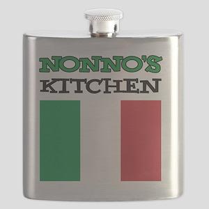 Nonnos Kitchen Italian Apron Flask