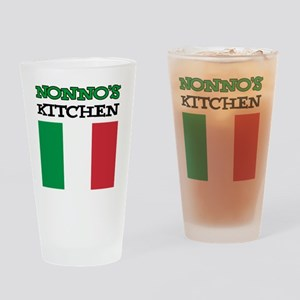 Nonnos Kitchen Italian Apron Drinking Glass