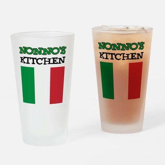Nonnos Kitchen Italian Apron Drinking Glass