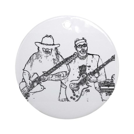 Mike & Cutty Ornament (Round)