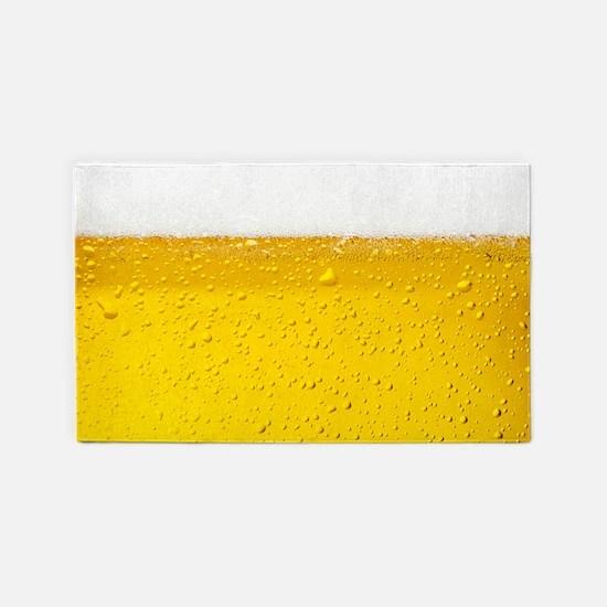 Beer 3'X5' Area Rug