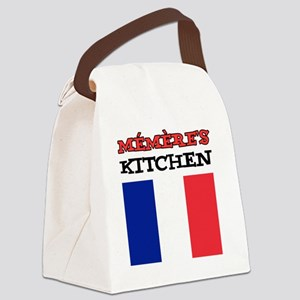 Memeres Kitchen French Apron Canvas Lunch Bag