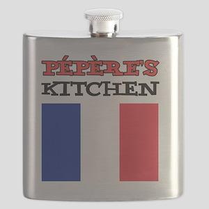 Peperes Kitchen French Apron Flask