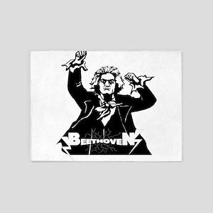 Beethoven 5'x7'Area Rug