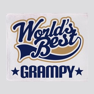 Worlds Best Grampy Throw Blanket