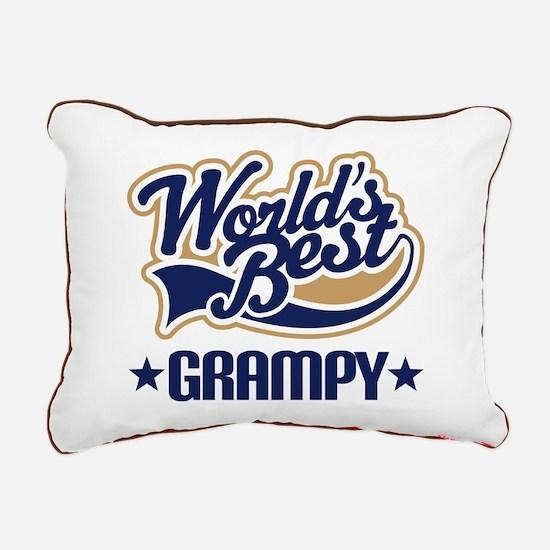 Worlds Best Grampy Rectangular Canvas Pillow