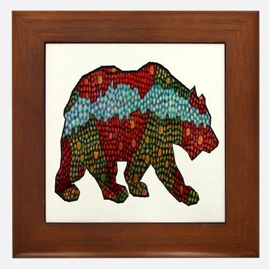 BEAR MUSE Framed Tile